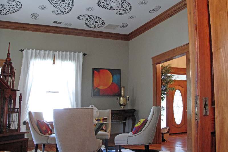 Decorative-painting-dining-room