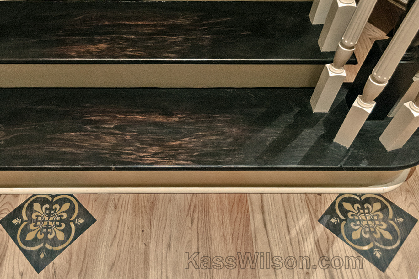 decorative painting stairs