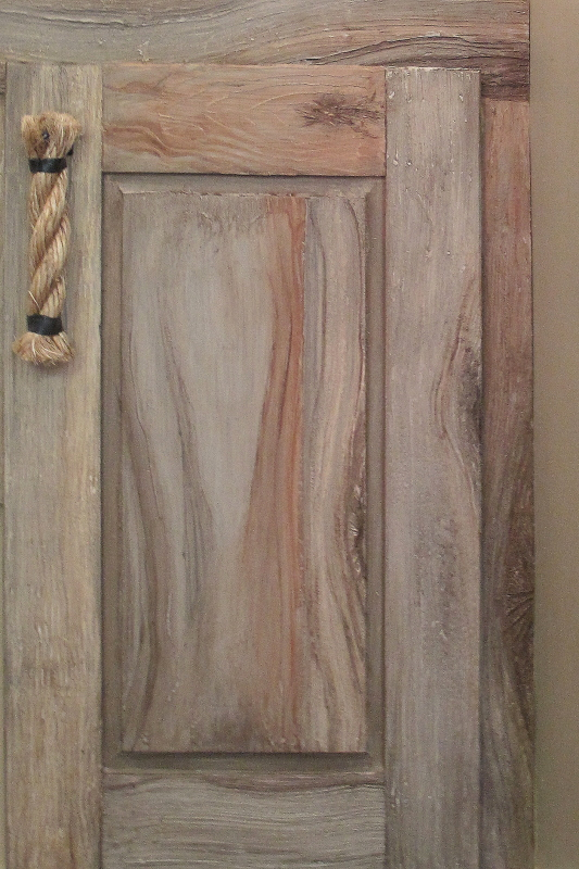 driftwood cabinet finish