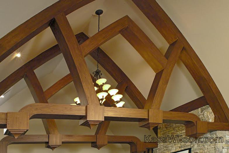 faux wood beams 2