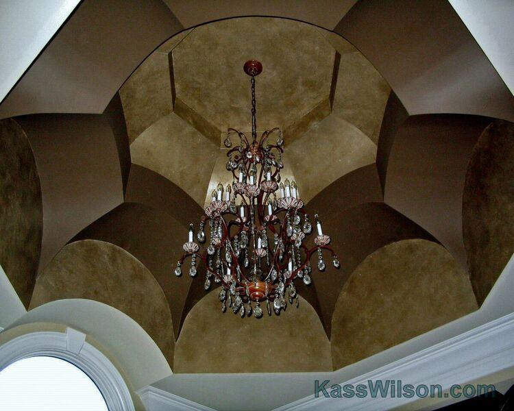 Atlanta faux finish ceiling