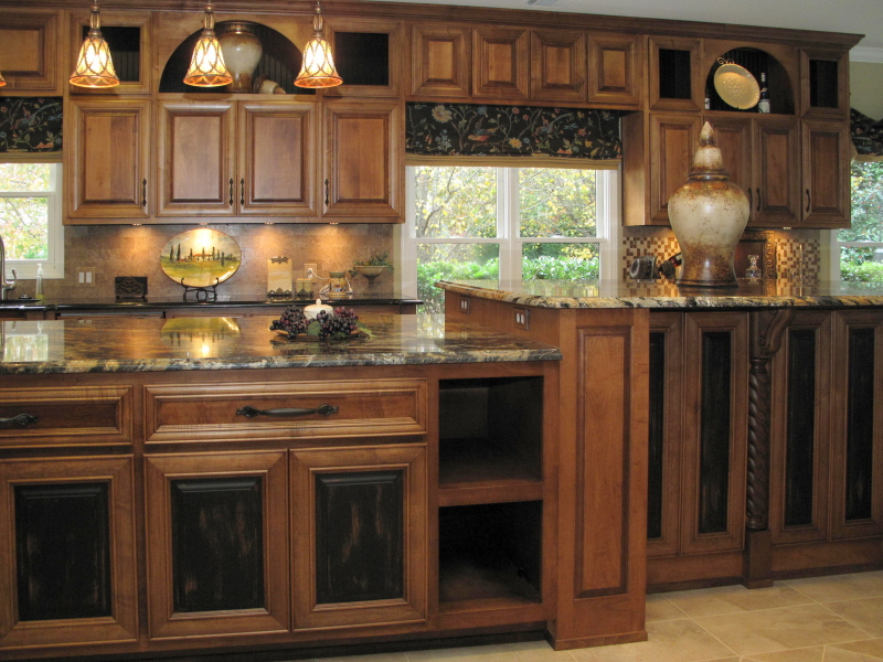faux finishes on cabinets