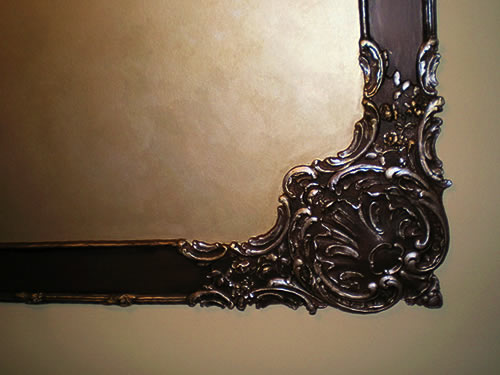 decorative painting on trim