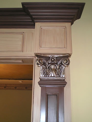 faux finishes on trim molding