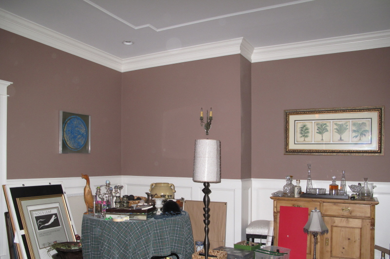 before faux finish