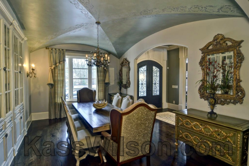 dining-room-groin-vault-ceiling