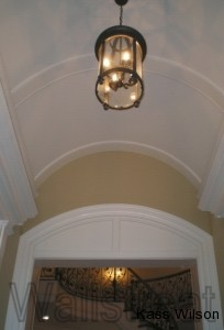 ceiling faux finish before