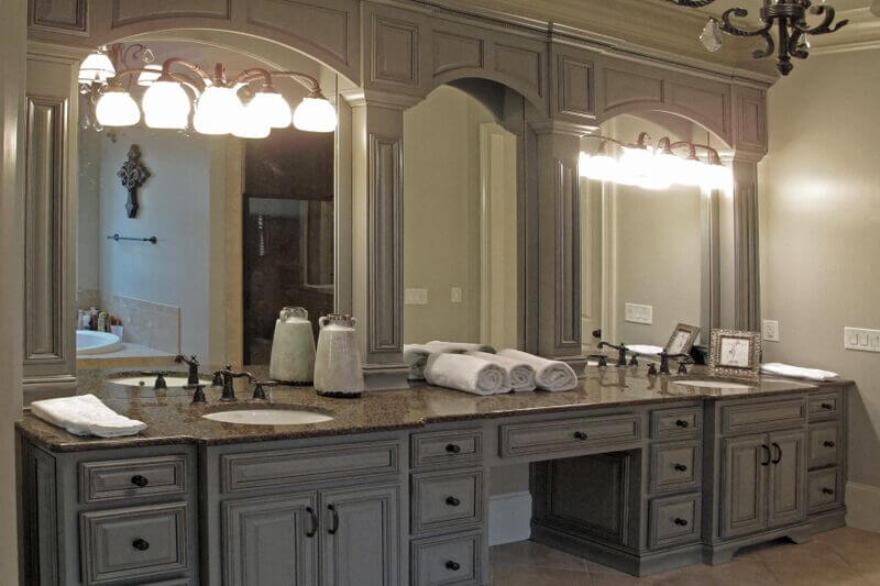 exciting master bathroom white cabinets | Cabinets in the Age of the Open Kitchen