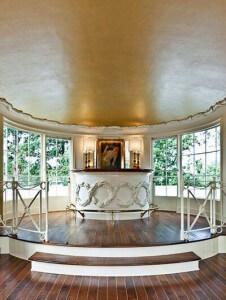 Fantastic Voyage: A Streamline Moderne Ceiling Finish
