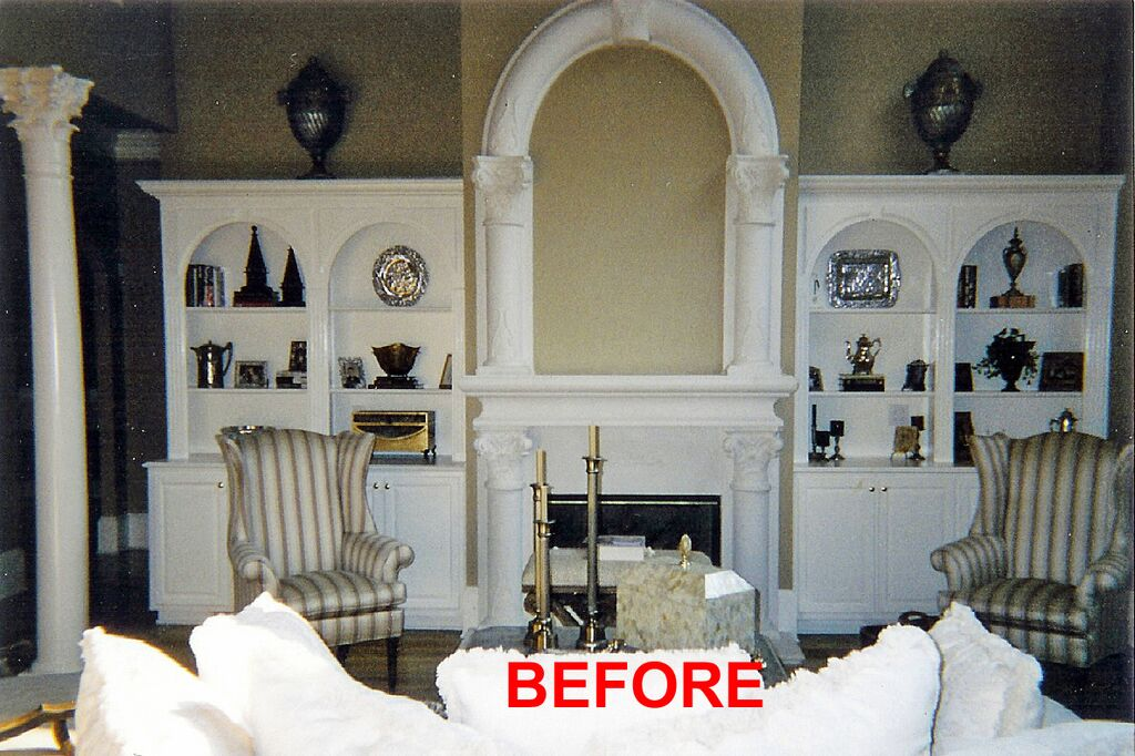 Architectural details: Before