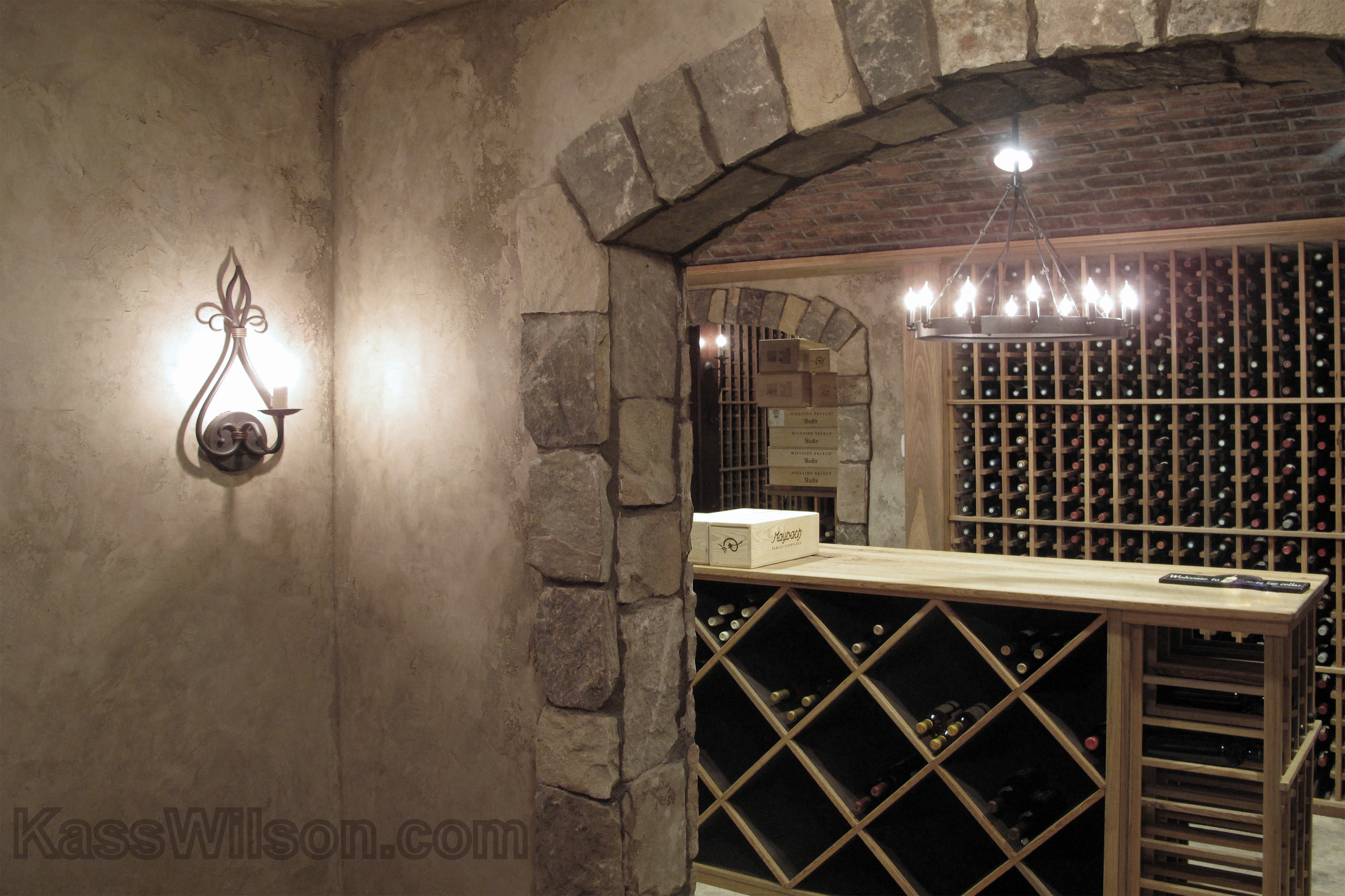 Custom wine storage
