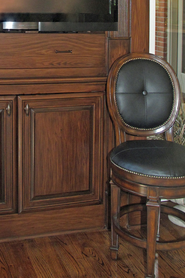 Wood grain details