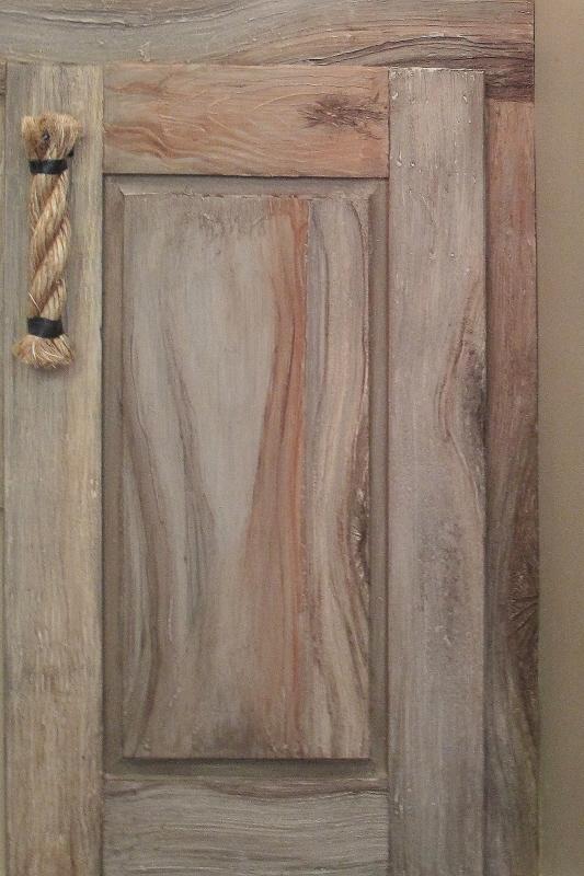 Driftwood Cabinet Finish