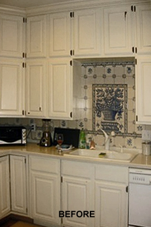 kitchen remodel, before