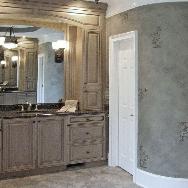 decorative cabinet refinishing