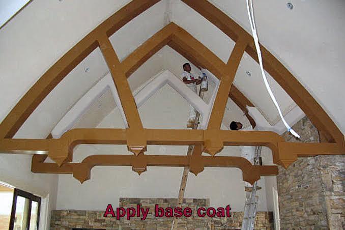 faux wood beams 1