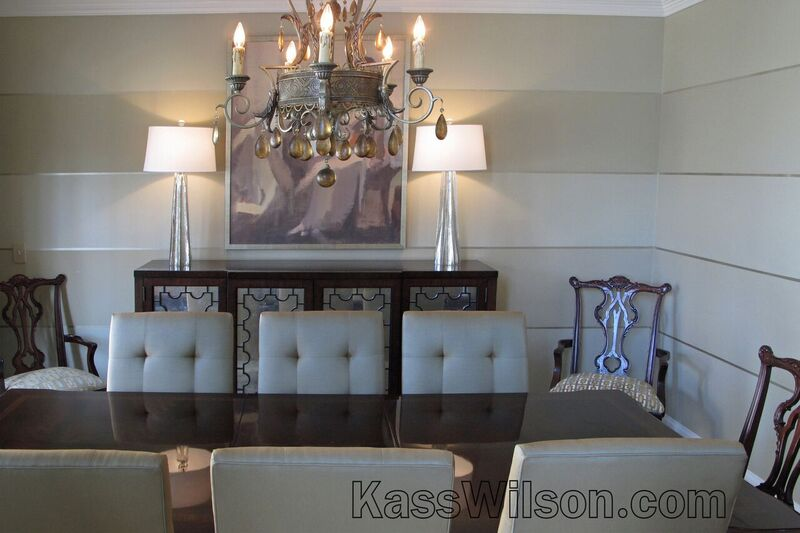 Decorative painting dining room walls