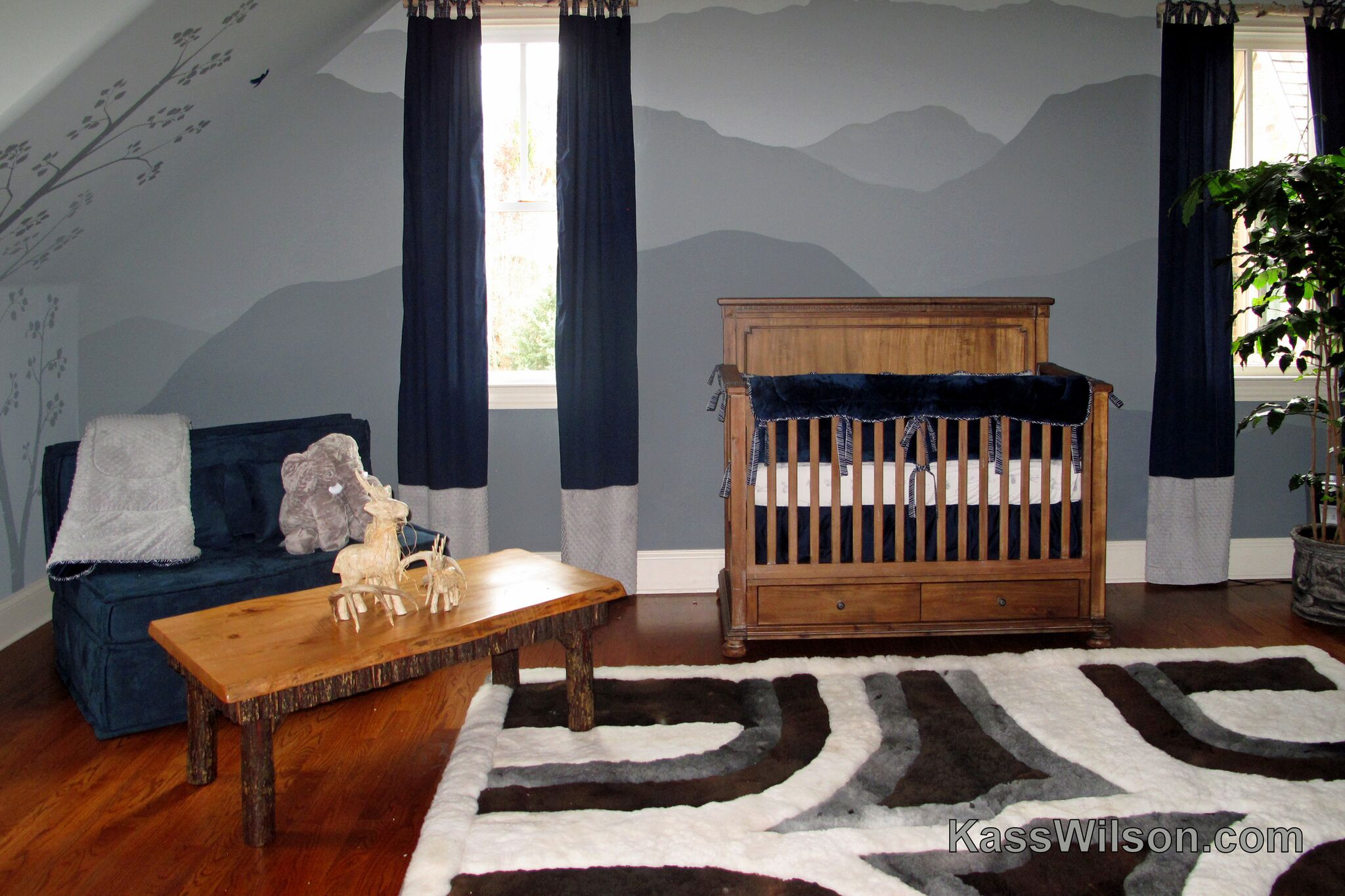 Nursery Mountain Mural