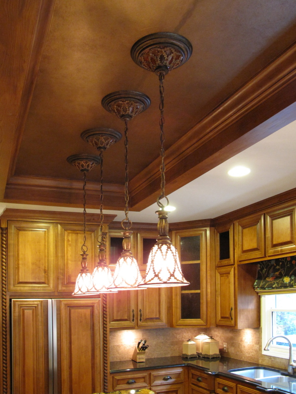 ceiling faux finish