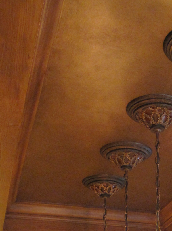 faux finish on ceiling