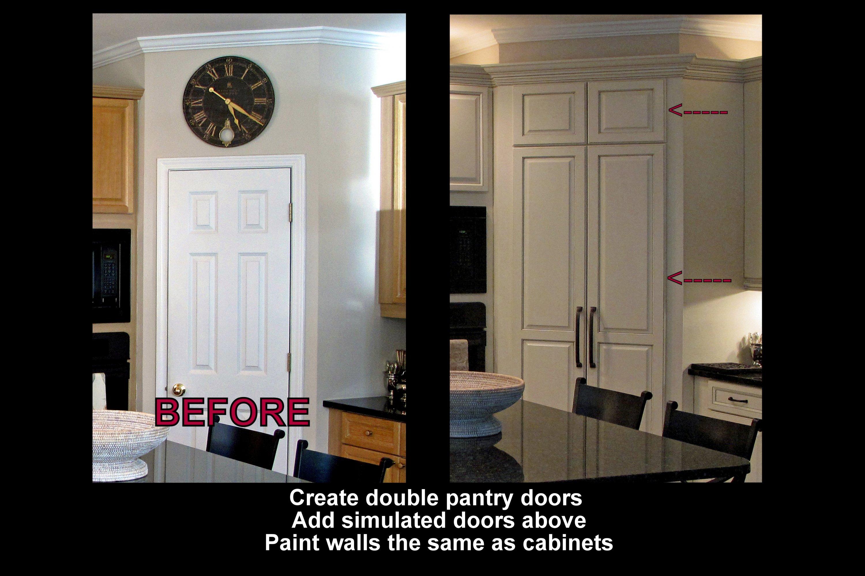 Pantry door changes