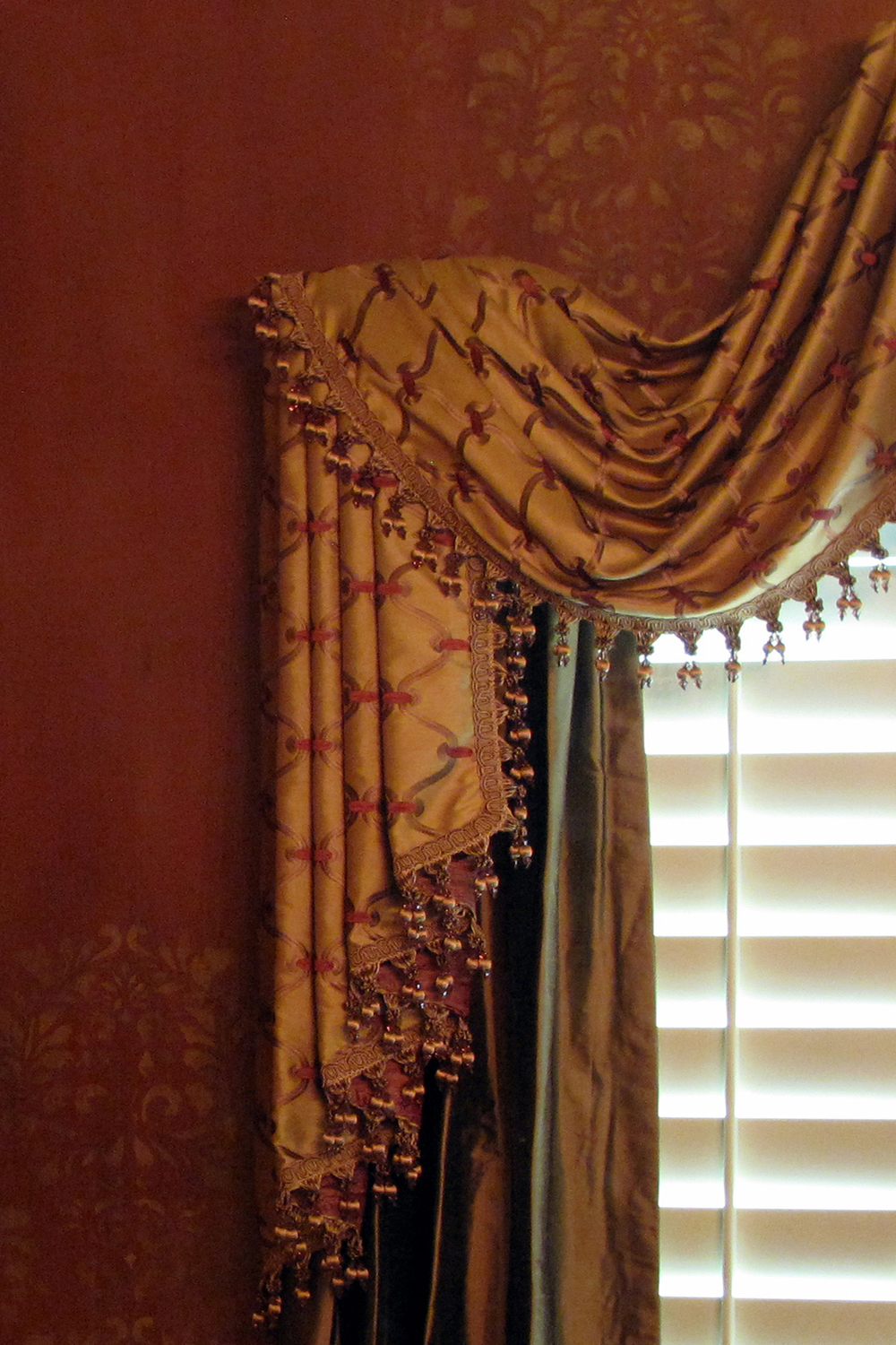 Blend with window treatments