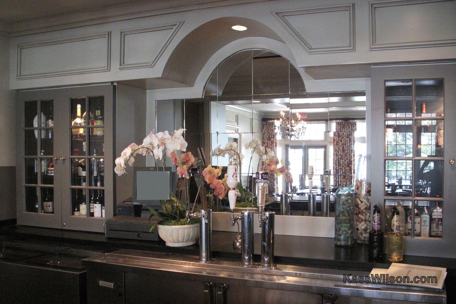 cabinetry resurfacing- Duluth bar