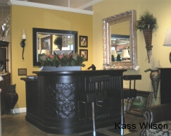 showroom interior design in Atlanta- before