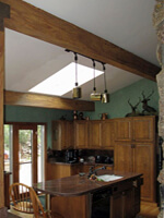 Talent on Loan: Faux Finished Wooden Beams