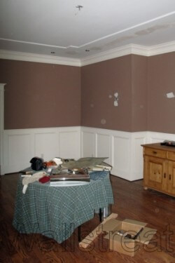 Atlanta decorative painting- before