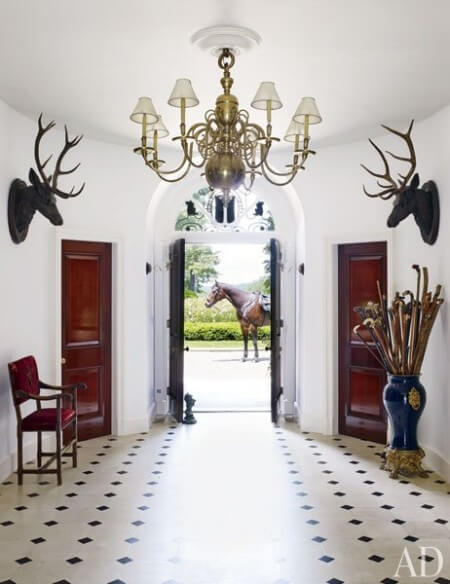 equestrian inspired interior design
