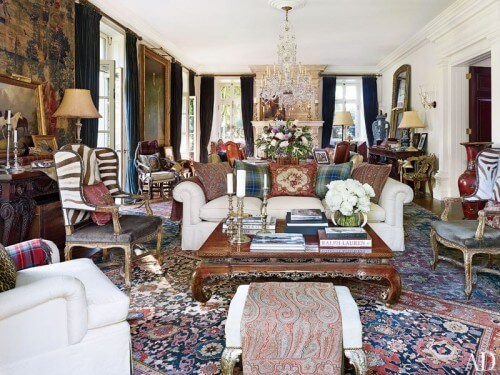 Ralph Lauren style interior design