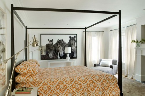 modern equestrian interior design