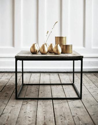 brass interior design trend