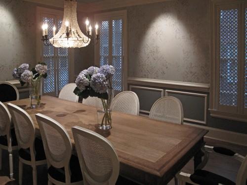 Atlanta faux finish dining room