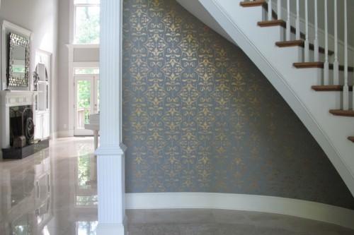 decorative painting foyer