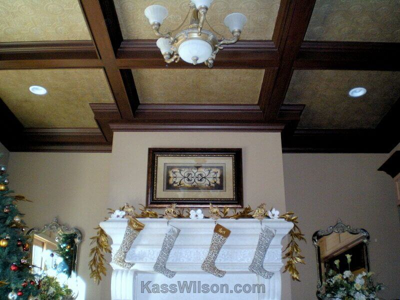 Ceiling painting for Atlanta interiors
