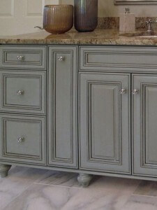 Easy on the Eyes: Bathroom Cabinetry Refinishing