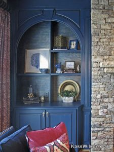 Dress Blues: Painted Cabinetry Creates a Bold New Look
