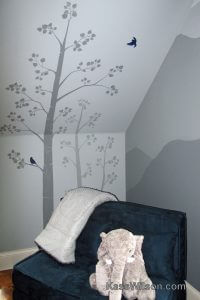 Little Boy Blue: Nursery Mural