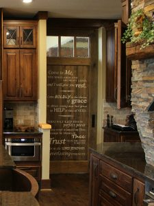 Atlanta decorative painting door