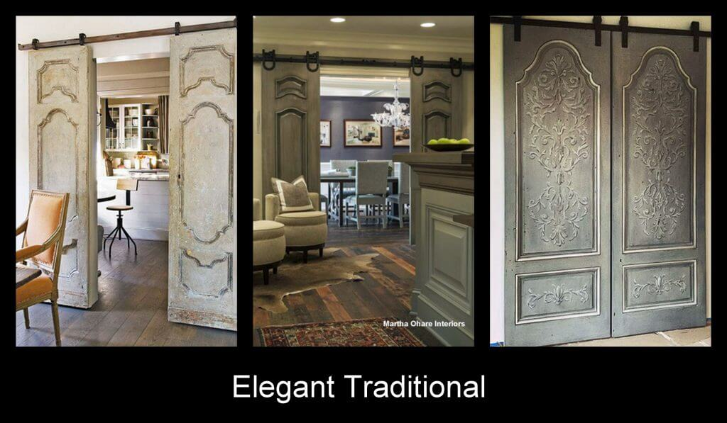 sliding doors for traditional interior design